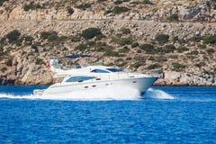 Yacht stock photo