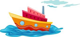 Yacht royaltyfri illustrationer
