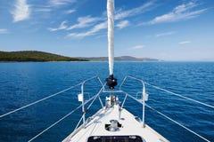 Yacht_3 Fotos de archivo libres de regalías