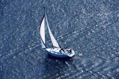Yacht-3 royaltyfri foto