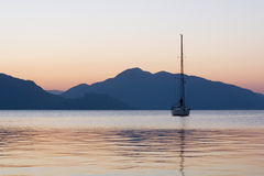 A yacht Stock Photography