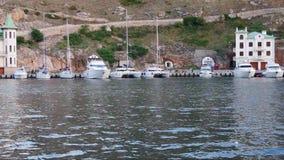 Yacht stock footage