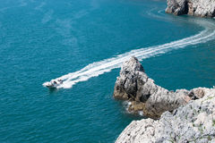 Yacht fotografie stock libere da diritti