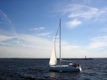 Yacht. Stock Photo