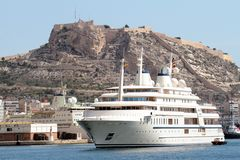 Yacht Al Said Stock Image