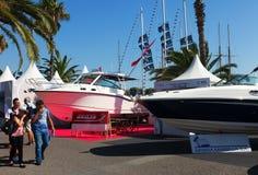 Yacht al salone Nautico Immagine Stock Libera da Diritti