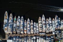 Yacht alla manifestazione 2017 della barca del Fort Lauderdale Fotografia Stock Libera da Diritti
