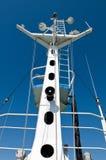 Yacht alongside the dock. Royalty Free Stock Photo