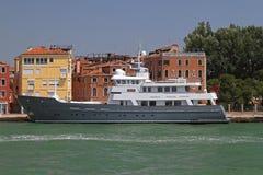 Yacht Axantha deux Image libre de droits