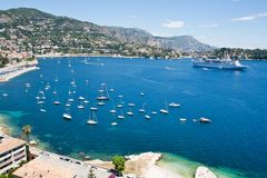 Yacht Bay France royalty free stock image