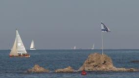 Yacht Berth Israel stock video