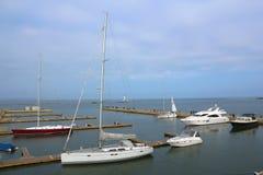 Yacht de navigation Images libres de droits