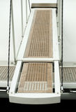 Yacht boarding ladder Stock Image