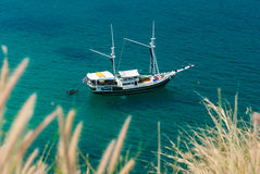 Yacht boat on the sea in Thailand Stock Images