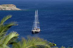 Yacht - Bodrum Turquie Photo stock