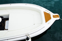 Yacht Bow Royalty Free Stock Photos