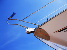 Yacht Bow Royalty Free Stock Photo