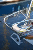 Yacht bow Royalty Free Stock Photo