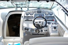 Yacht cabin Royalty Free Stock Photos