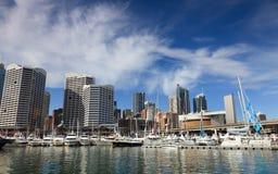 Yacht City Darling Stock Photo