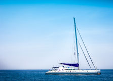 Yacht2. Yacht on the clear water andaman sea Stock Photos