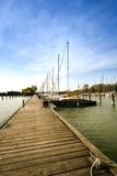 Yacht club Royalty Free Stock Photography