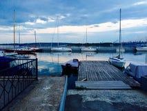 Yacht club Imagens de Stock Royalty Free