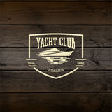 Yacht club badges logos and labels for any use Royalty Free Stock Photography
