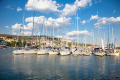 Yacht Club in  Balchik , Bulgaria. Stock Photography