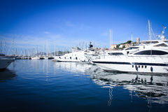 Yacht club de Cannes Fotografia de Stock Royalty Free