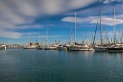 Yacht club de Castellon em Valência Foto de Stock