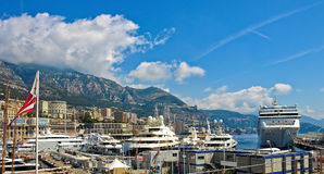 Yacht Club de Monaco Stock Images