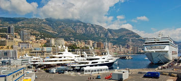 Yacht Club De Monaco Royalty Free Stock Images