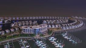 Yacht club de Xiangshan da estrada de Xiamen Huandao imagem de stock royalty free
