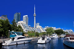 Yacht club di Toronto Immagine Stock