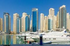 Yacht Club in Dubai Marina Royalty Free Stock Photo