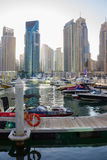 Yacht Club in Dubai Marina Royalty Free Stock Image