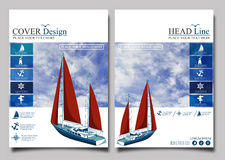 Yacht club flyer design template stock illustration yacht club flyer design template vector stock image toneelgroepblik Image collections