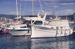 Yacht club Stock Image