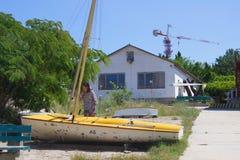 Yacht club o sul Fotografia de Stock Royalty Free