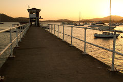 Yacht club Panama Fotografia Stock