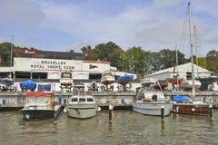 Yacht club real de Bruxelas Foto de Stock Royalty Free