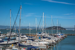 Yacht Club in San Francisco Royalty Free Stock Photos