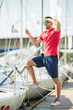 Yacht club Royalty Free Stock Image