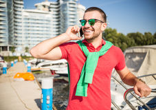 Yacht club Stock Photography