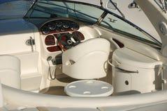 Yacht cockpit Stock Images