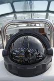 Yacht compass royalty free stock photography