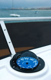 Yacht compass Royalty Free Stock Images