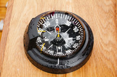 Yacht compass Royalty Free Stock Image