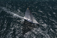 Yacht Competes In Team Sailing Event Royalty Free Stock Photo